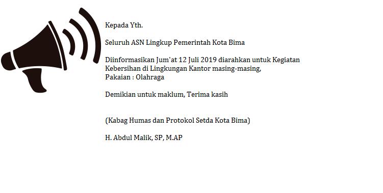 Website Kota Bima